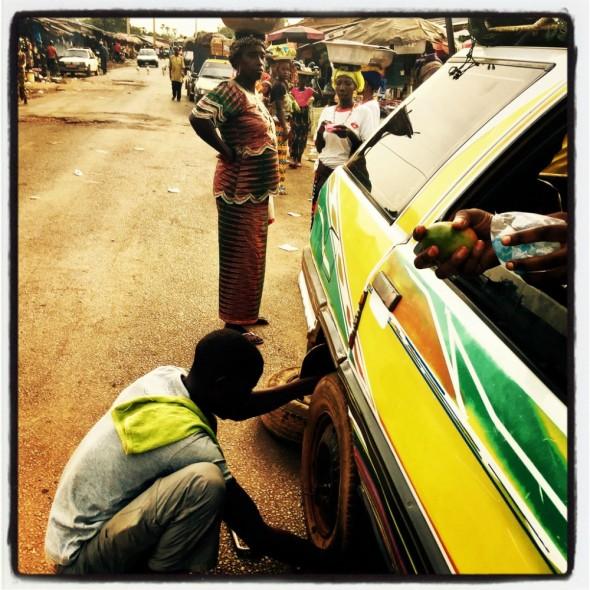 #Off2Africa Jour 82 Mamou Guinée © GILLESDENIZOT