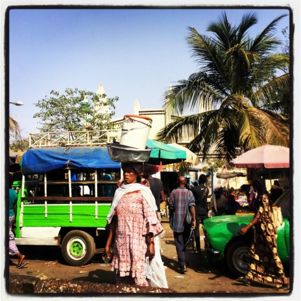 #Off2Africa Jour 86 Bamako Mali © GILLESDENIZOT
